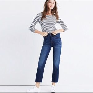 Madewell Cruiser Straight. Size 28. Dark wash!